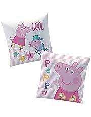 Peppa Pig Peppa Cool | Almohada 40 x 40 cm Niños Cojín Decoracion
