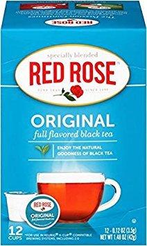 Red Rose Original Black Tea Keurig KCup - (12 K-Cups)