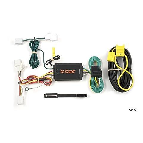 CURT 56016 Custom Wiring Harness - Standard Trailer Wiring