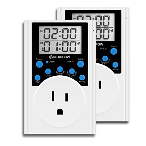 timer outlet three prong - 8