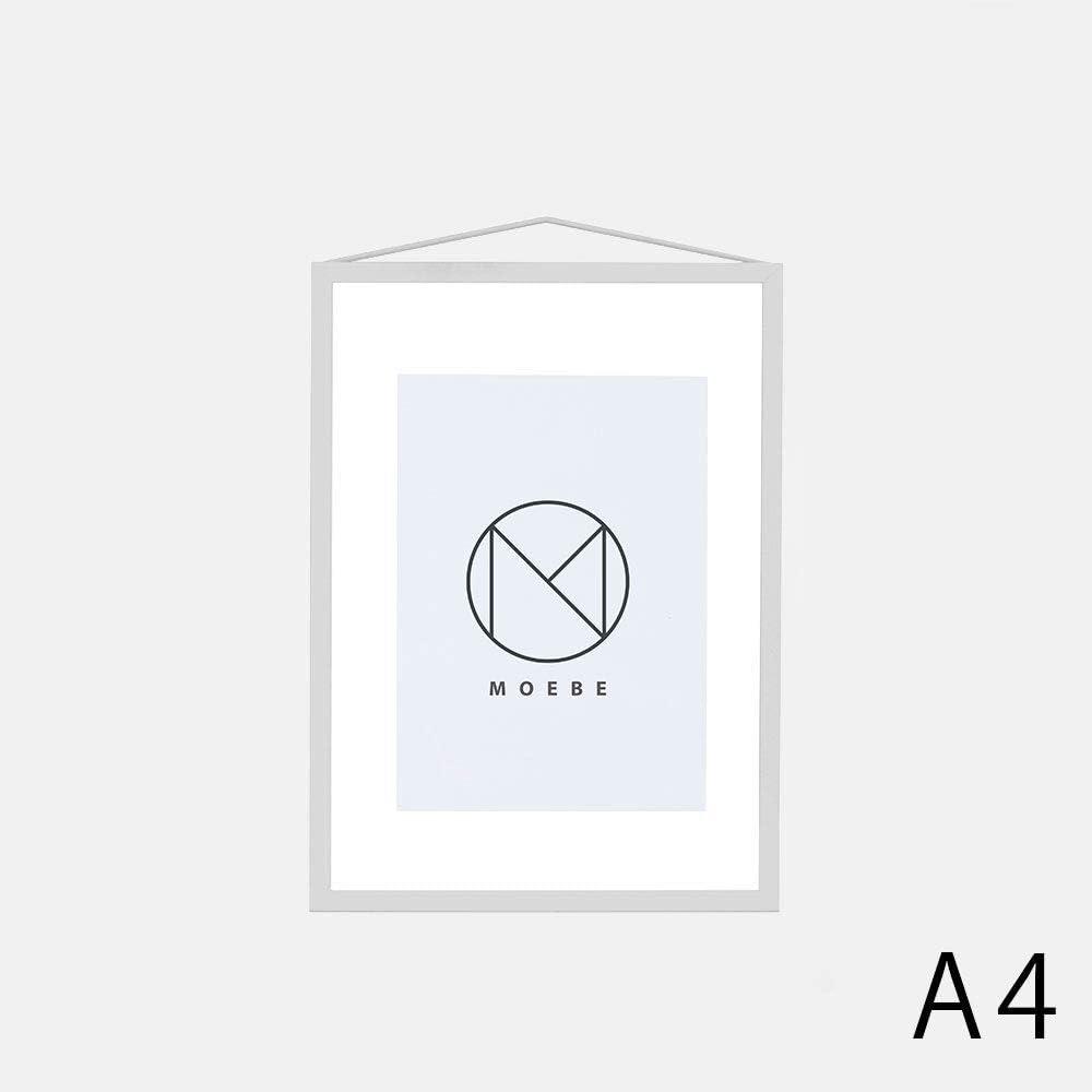 MOEBE (ムーベ) | A4 FRAME (light grey) | A4 アルミフレーム