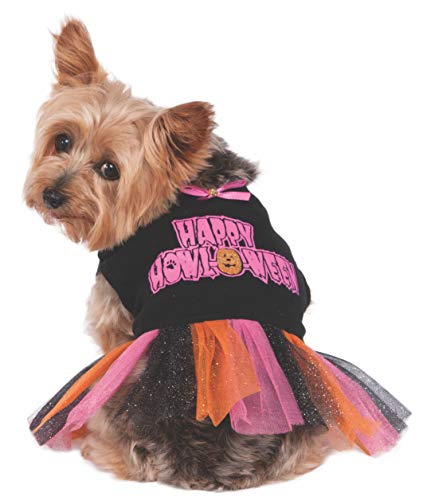 Rubie's Happy Howloween Tutu Dress Pet Costume, Small ()