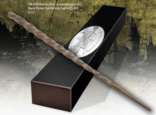 Xenophilius Lovegood Character Wand. Harry Potter Noble Collection by Noble Collection.