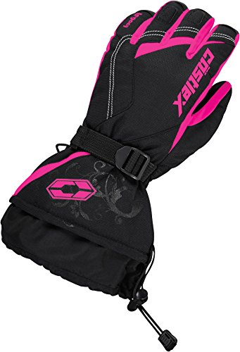Castle X Legacy Womens Snowmobile Gloves - Pink Glo (SML)
