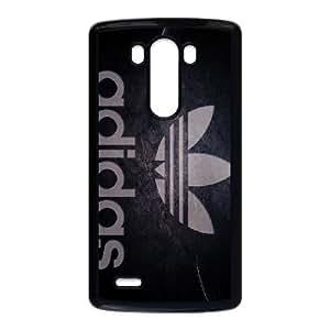 caja del teléfono celular G3 S MARCAS COMERCIALES ADIDAS ADIDAS funda LG Funda negro, funda de plástico caja del teléfono celular