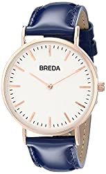 Breda Women's 1678E Analog Display Quartz Blue Watch