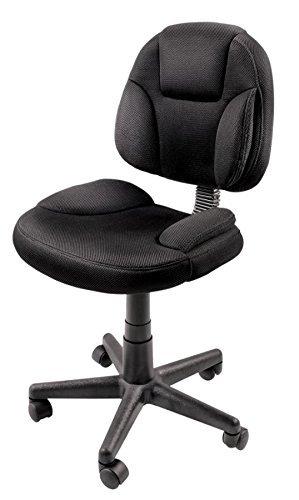 Amazon.com Brenton Studio(R) Battista Mesh Fabric Task Chair Black Kitchen u0026 Dining  sc 1 st  Amazon.com & Amazon.com: Brenton Studio(R) Battista Mesh Fabric Task Chair Black ...