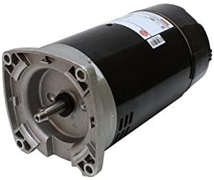 1.5 hp 3450 RPM 56Y Frame 115/230V Square Flange Pool Motor US Electric Motor # EB854