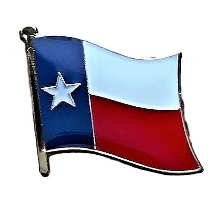 Backwoods Barnaby Texas State Flag Lapel Pin (TX broach, 0.75