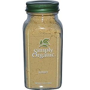 Simply Organic, Ginger, 1.64 oz (46 g) -- 2PC