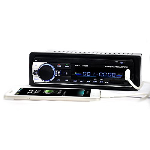 41H1pqpPOTL digital car stereo single din car stereo bluetooth in amazon co  at couponss.co
