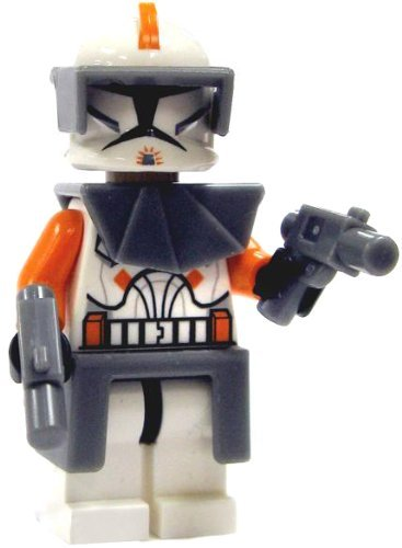 LEGO Star Wars Clone Wars Minifigure - Commander Cody with Armor & Blasters ()