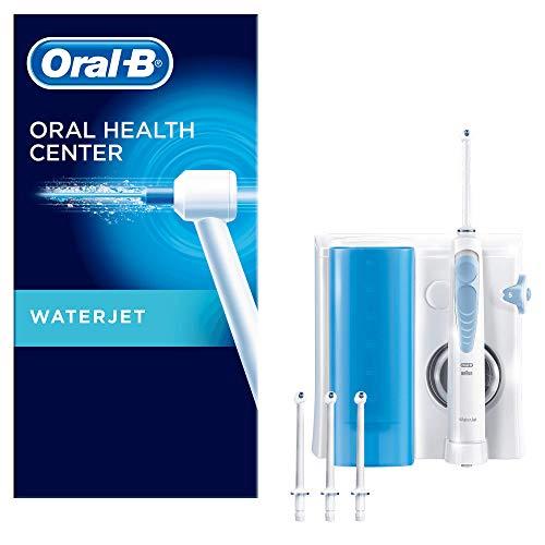 Oral-B Waterjet – Sistema de Limpieza Irrigador Bucal con Tecnología Braun, 4 Cabezales
