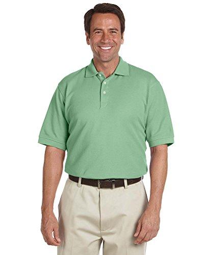 Performance Plus Pique Polo - Chestnut Hill Men's Short Sleeve Performance Plus Pique Polo Shirt CH100 green XXX-Large