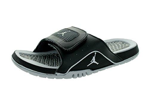 Nike Men's Jordan Hydro IV Retro Black/Wolf Grey Sandal 1...