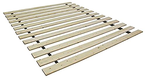 Spring Solution Wooden Bed Frame Slat, Queen