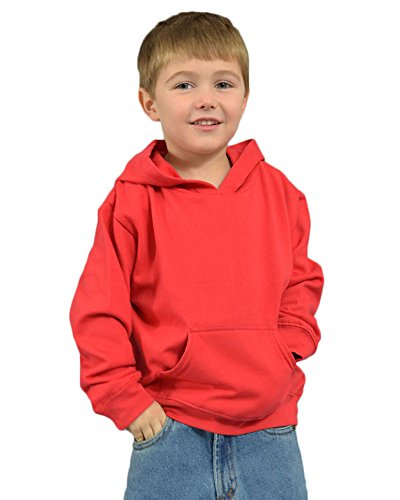 Monag Infant Fleece Hooded Pullover 18m Red