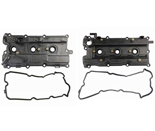 MOSTPLUS New Engine Valve Cover Set For 02-07 I35 Altima Maxima Murano 3.5L 264-985 264-984 (Set of 2)
