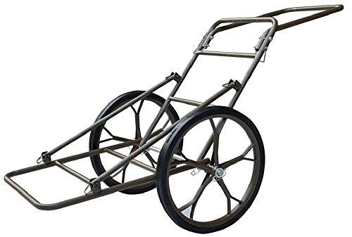 Folding Deer Cart Game Hauler Utility Hunting Accessories Gear Dolly Cart 500Lb