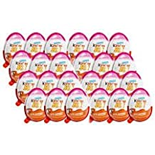 (Kinder Display With 24 units FOR GIRLS) Ships From USA - Kinder Joy With Surprise Inside