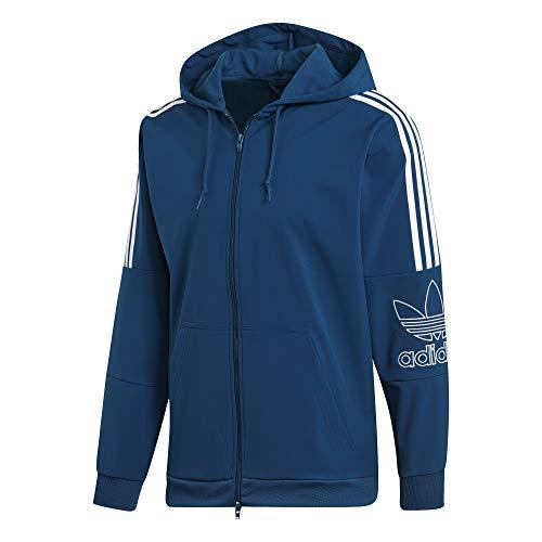 Marley Hombre Fz Sudadera Adidas Outline Hood 6Agq0y1x