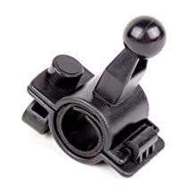 DURAGADGET GPS Bike Handlebar Ball Mount For Garmin Nüvi 2455LMT, nüvi 2445 LMT