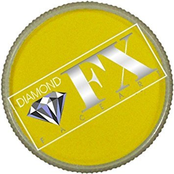 (Diamond FX Essential Face Paint - Yellow (30)