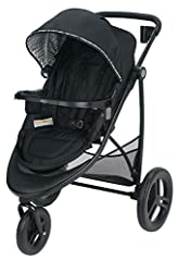 Experience 7 ways to ride with the Graco Modes 3 Essentials LX Stroller. The reversible stroller seat allows baby to face you or the world and reclines to create to a cozy infant bassinet while also accepting any Graco Click Connect Infant Ca...