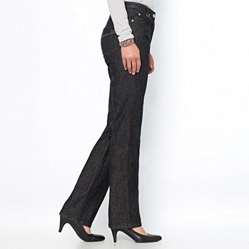 Redoute Straight Donna Weyburn Jeans La Bassa Anne Vita Nero HxtXwqd