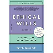 Ethical Wills: Putting Your Values on Paper