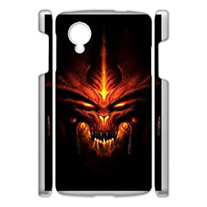 Google Nexus 5 Phone Case White Diablo HJF693211