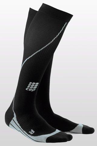 CEP Woman's Running Socks (IV/L 39-44 cm, Black)