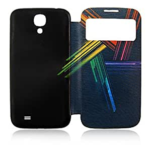 hello Colors Lines Plastic Full Body Case for Samsung Galaxy S4 I9500