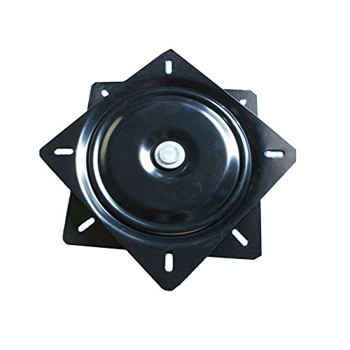 eel Seat Swivel 360 Degree Heavy Duty Bar Stool Swivel Replacement Bar Boat Stool Swivel Plate Seat Swivel Base Mount Plate (10inch) ()