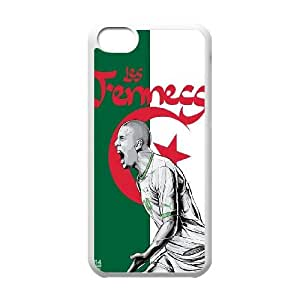 iPhone 5c Cell Phone Case White WorldCup Algeria LV7958636