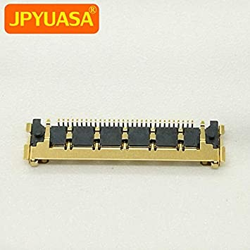 Cable Length: Standard, Color: 10 Pieces ShineBear Unibody Golden LCD LED LVDS Cable Connector 30 pins for iMac A1311 A1312 2011 A1418 2012