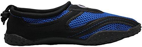 Greg Michaels Herren Wasserschuhe Aqua Socken - hohe Haltbarkeit, angenehm in Wasser und an der Oberfläche zu tragen Schwarz / Royalblau