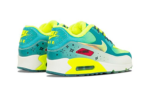 Nike Wmns Air Max 90 Prm Db Stralend Emerald / Volt / Midnight Wintertaling