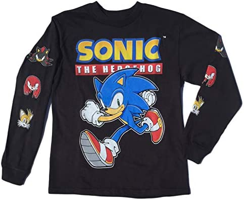 Sonic The Hedgehog Little Boys T Shirt