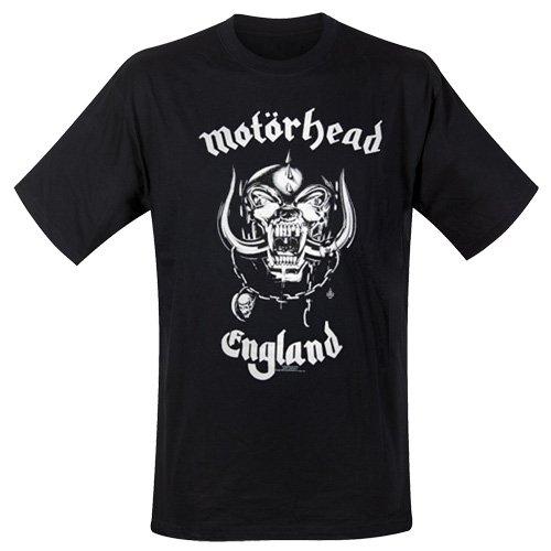 Motorhead Men's England Official T-Shirt