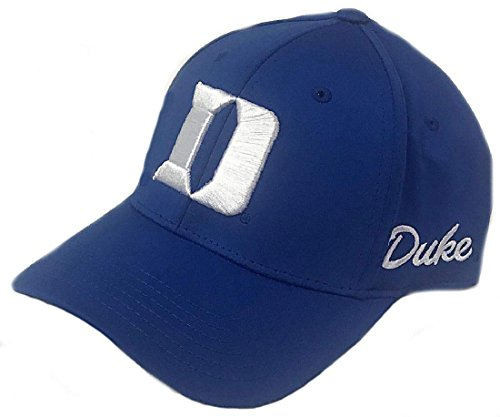(Top of the World Duke Blue Devils Royal 1 Fit Phenom Memory Fit Cap)