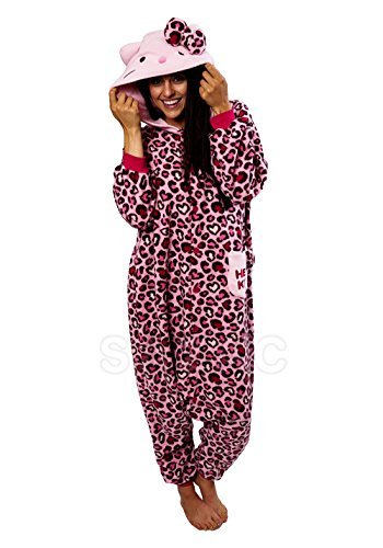 Hello Kitty Leopard Kigurumi  Pink