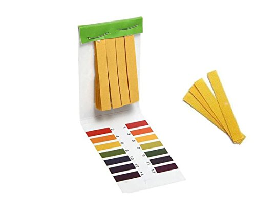 Haobase 80 Pcs Full Ph 1-14 Test Indicator Litmus Paper Strips Tester