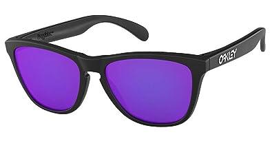 93f97d4cb82 Oakley Collectors Edition Frogskins Sunglasses Matte Black OO9013 24 298  55  Amazon.es  Zapatos y complementos