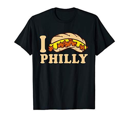 I Love Philly CheeseSteak Tshirt I Heart <3 Philadelphia