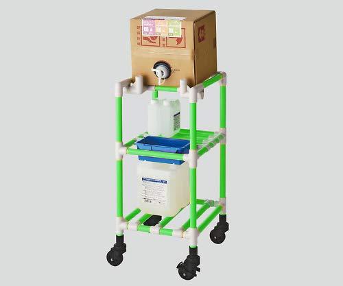 キュービテナーカート(抗菌防カビイレクター(R)) グリーン /8-6547-05   B01LPFXEHO
