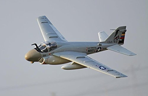 A-6 Intruder Attack Jet 80mm 12-Blade Metal EDF Ducted Fan RC Airplane PNP (No Radio, battery, charger)