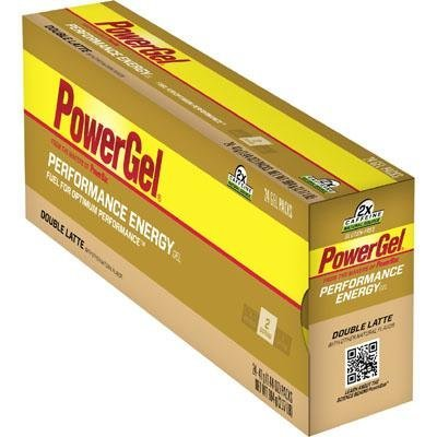 PowerBar Power Gel C2 MAX - Box of 24 - Double Latte - Double Caffeine