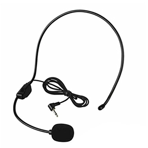 HUACAM YYPJ-02 Condenser Headset Microphone, Flexible Wired Boom (Standard 3.5mm Connector Jack) for Belt Pack Mic Systems (2 X Headset Microphone) - Image 3