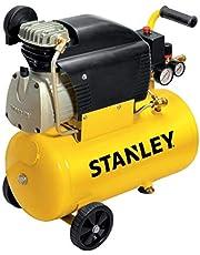 Stanley D211/8/24 Compressor, 24 liter, 2 pk, geel, 24 kg